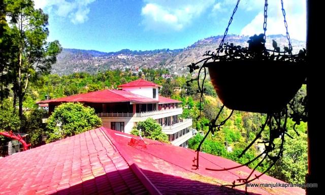 The lovely landscape, Aamod bhimtal