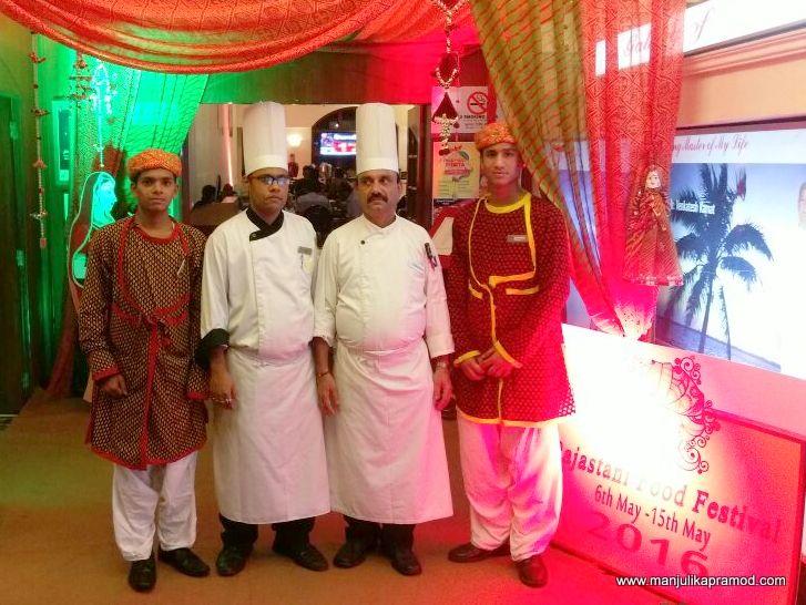 Authentic, Tasteful, Rajasthani, Food Festival, VITS Luxury Hotel, Mumbai