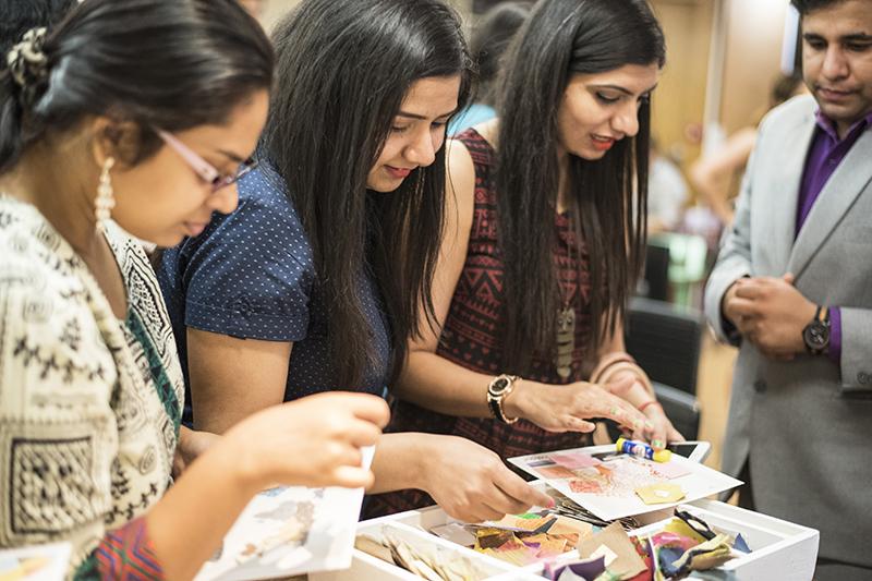 Asian Paints workshop, CP Store, New Delhi