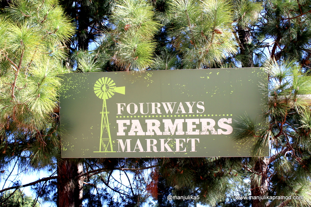 Johannesburg Diaries :  A Visit To Fourways Farmers' Market