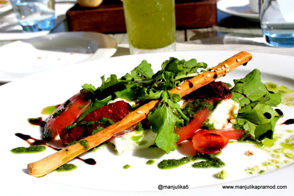 Lunch at Telfair, Mauritius, Travel, Food