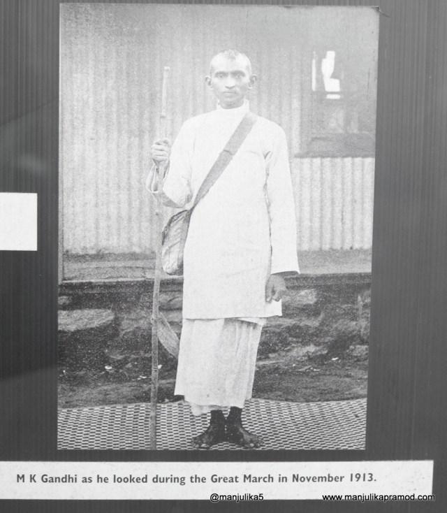 Satyagraha, Mahatama Gandhi, Johannesburg, Picture of Mahatama Gandhi in Johannesburg.