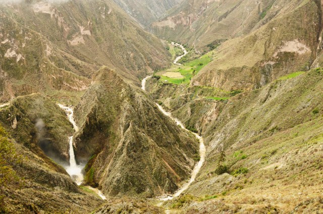 Peru, Cotahuasi canyon. The wolds deepest canyon
