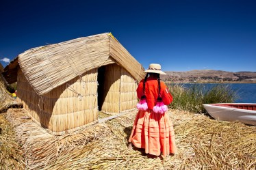 Peru, Local People, Titikaka lake