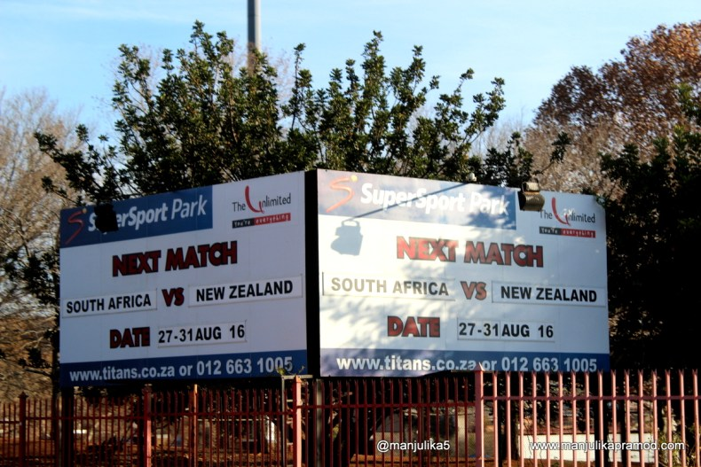 Supersport park-South Africa loves cricket just like India