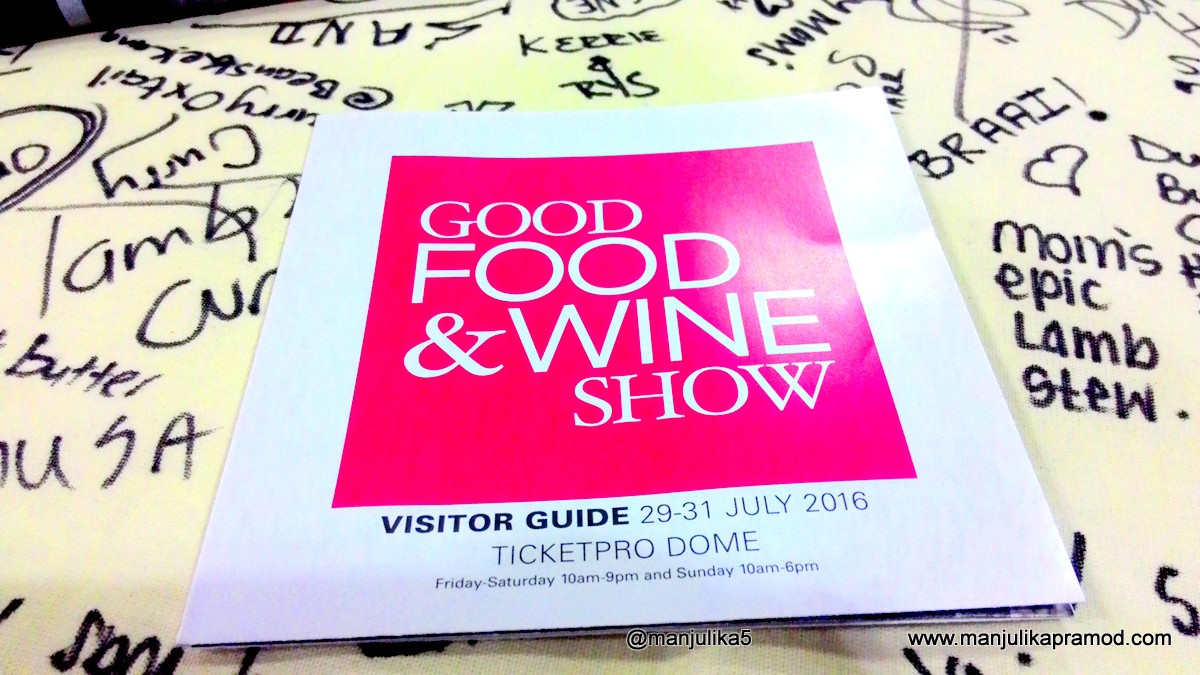 Good Food and Wine show, Johannesburg