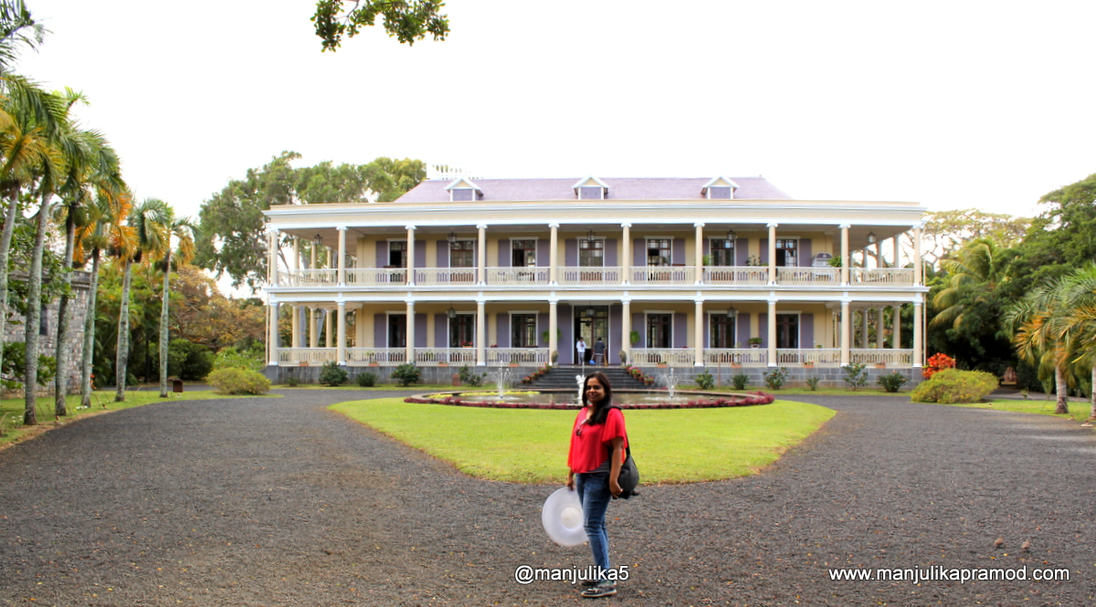 A house older than 150 years old, Mauritius