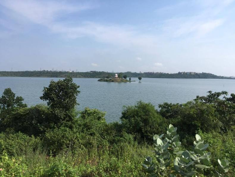 Kaliasot, Island, Temple in Bhopal