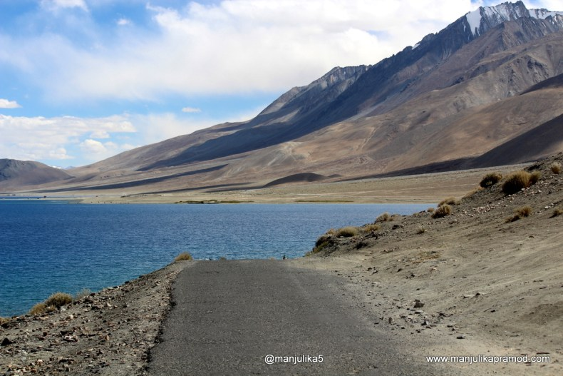 Intriguing beauty of Pangong Lake