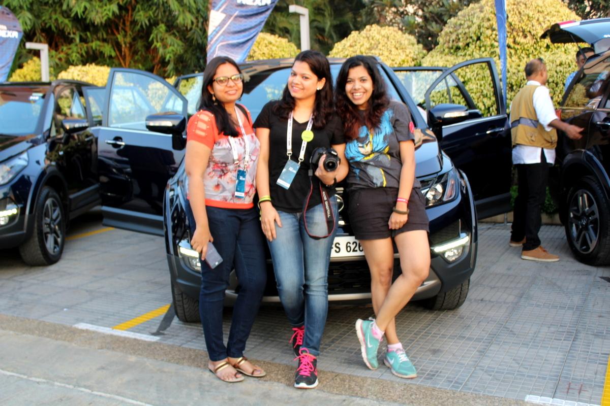 Hexa drive, Hyderabad