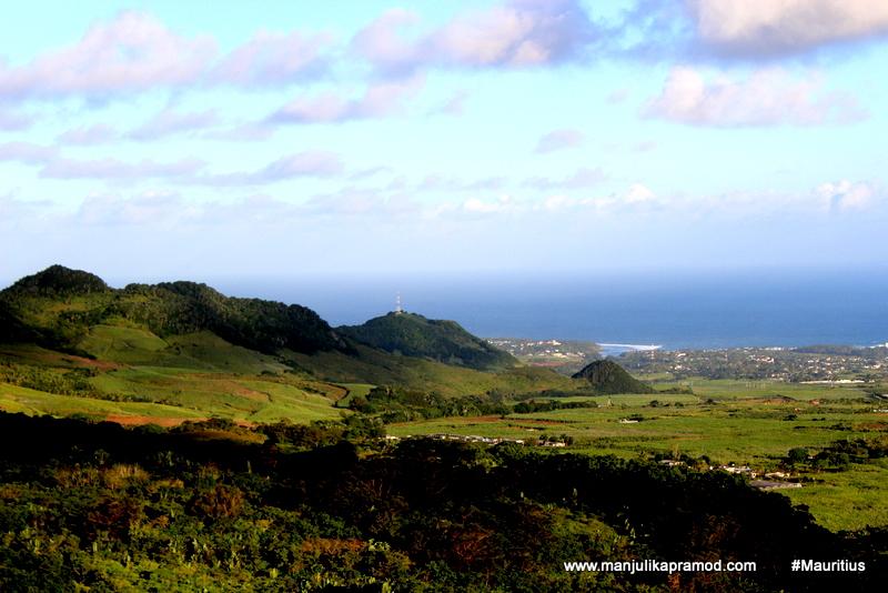 South coast of Mauritius