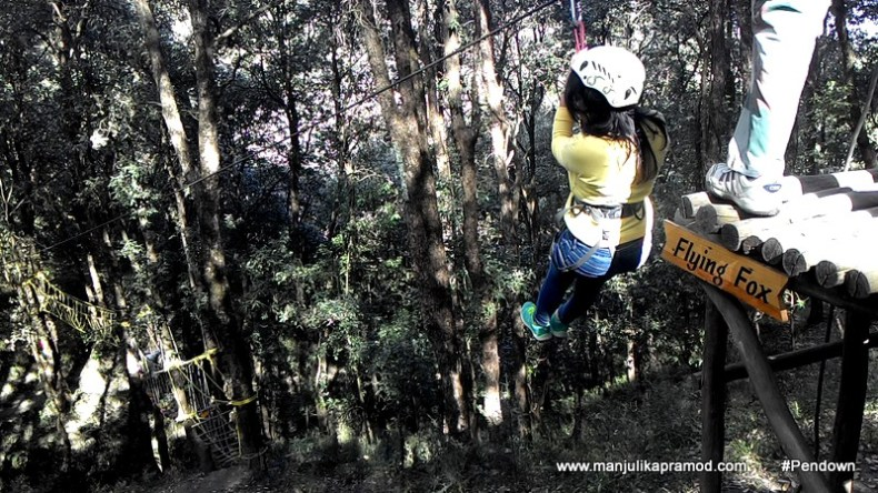 Ziplining, Adventure Sports in delhi