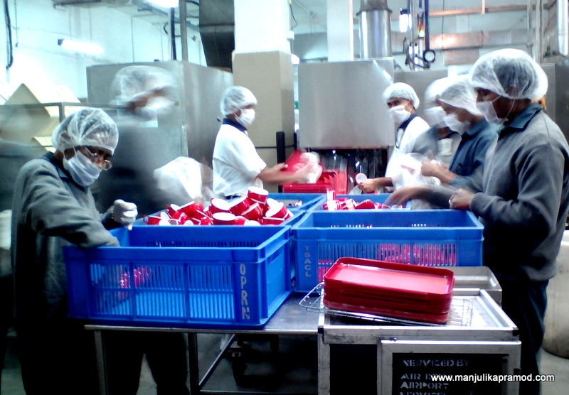 Cutlery Cleaning and Polishing Process