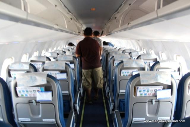 Bangkok Airways flight -A72