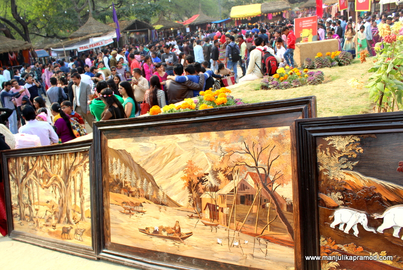 Paintings at Surajkund Mela