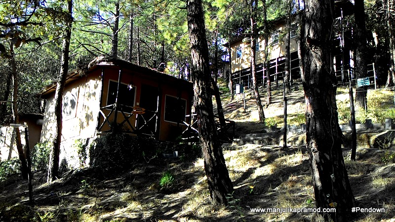 The rooms and cottage at Aamod Shoghi