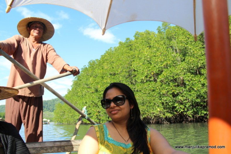 Boating excursion in Koh Chang