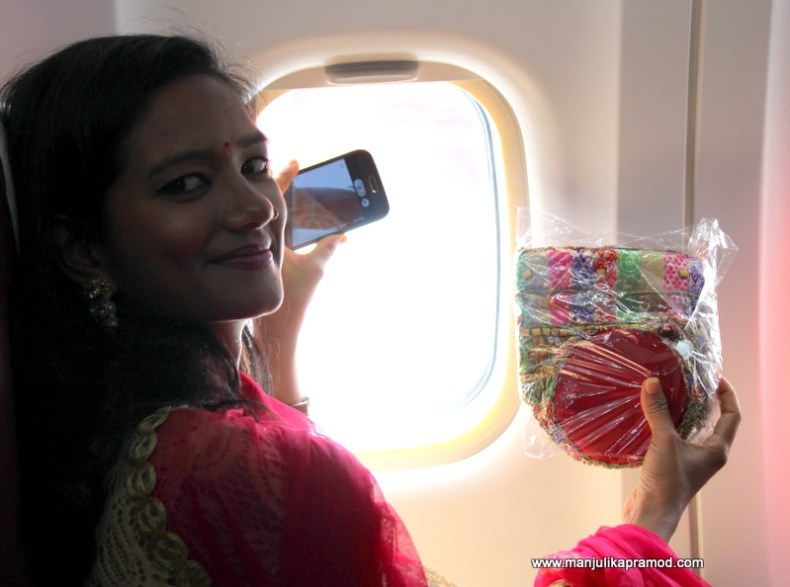 Swati couldn't stop herself from clicking non-stop pictures