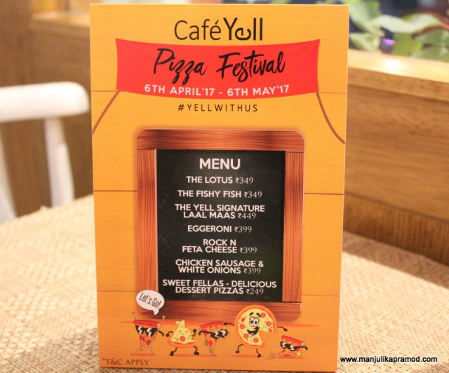 Cafe Yell Pizza festival