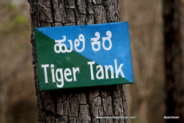 Tiger tank, Wildlife in India
