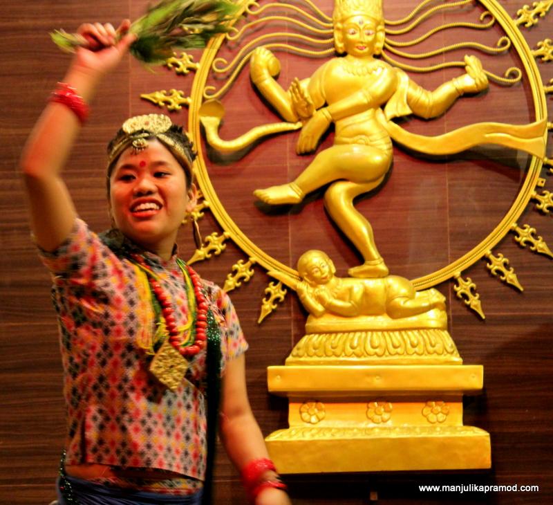 Local dance performer of Nepal