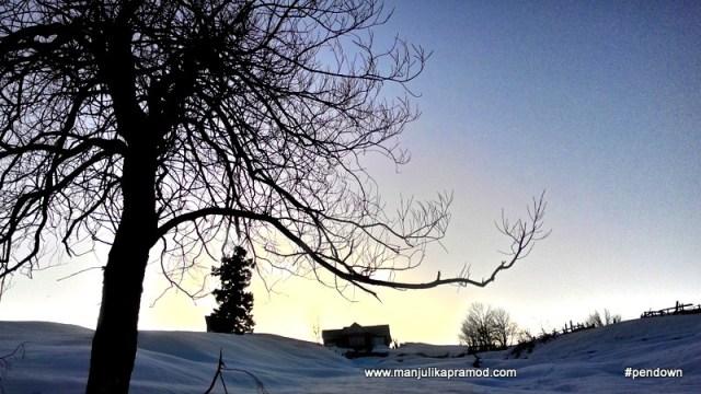 Snow covered Gulmarg