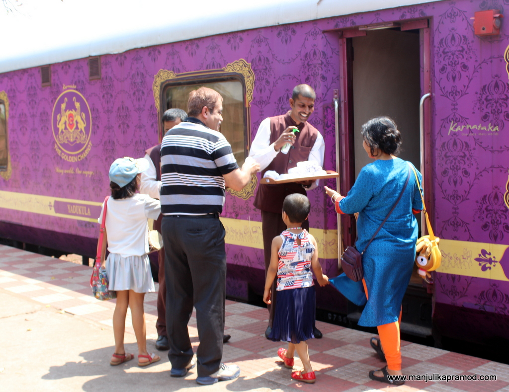 The butler service on luxury trains