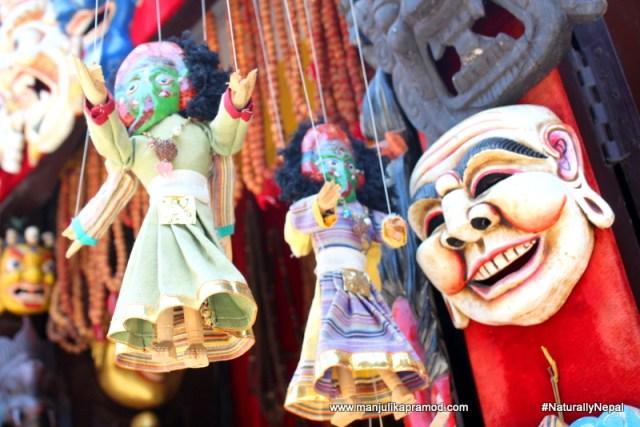 Thamel, puppetry art