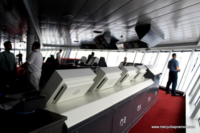 Bridge, Ship's controlling room