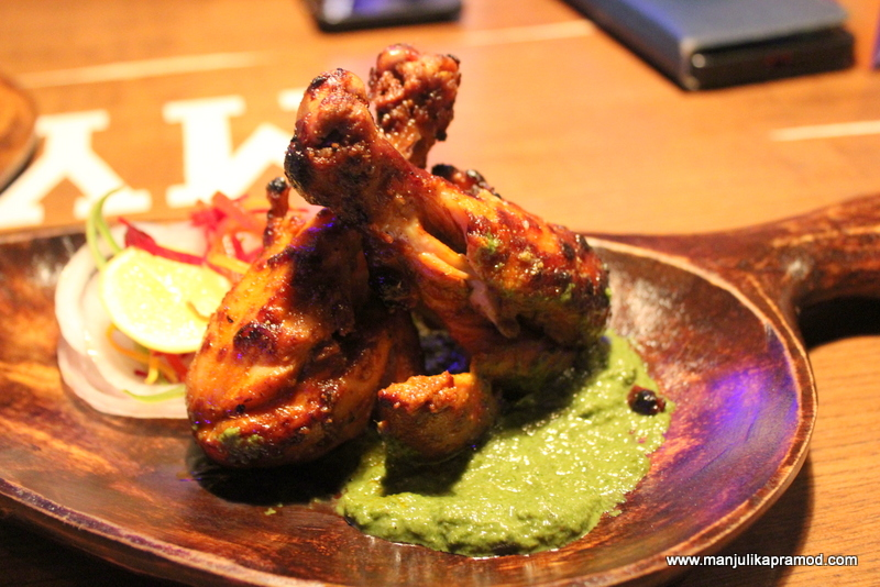 DARK RUM-GLAZED TANDOORI CHICKEN DRUMSTICKS