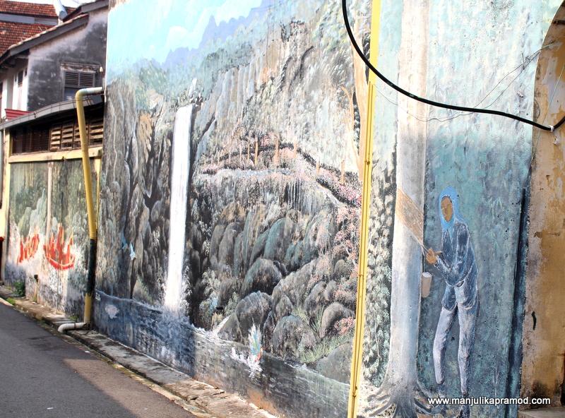 Local street art, Malaysia