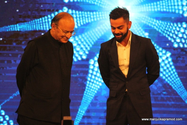 Virat Kohli won the Indian of the year