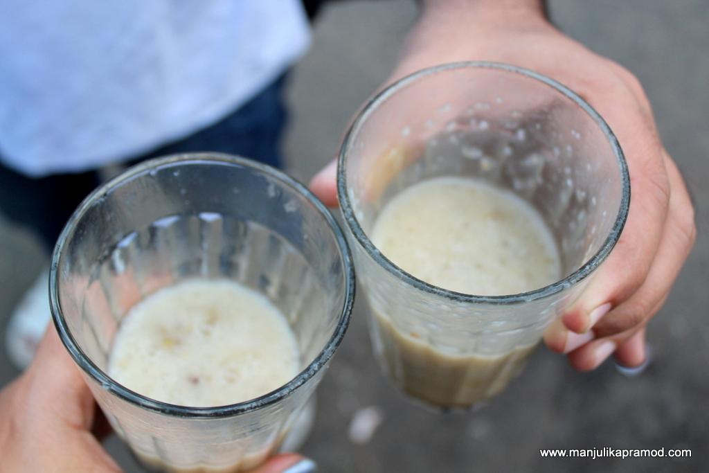 Sago porridge