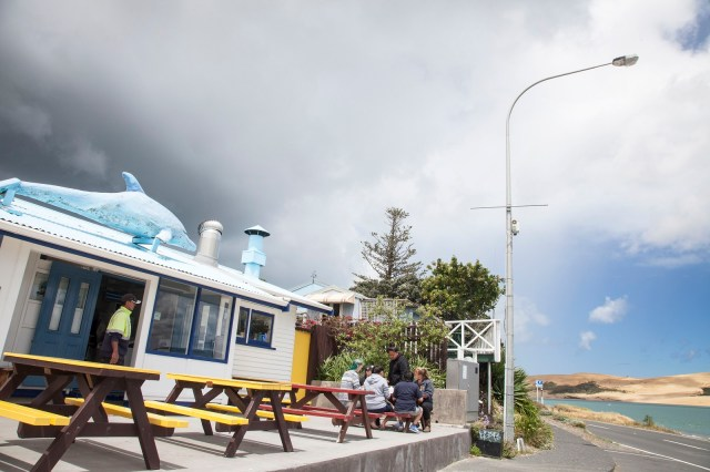 Opononi Beach Takeaways Hokianga seafood takeaway
