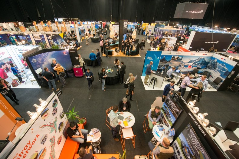 New Zealand's continuing popularity as a visitor destination is fuels demand for TRENZ 2018. PC - TRENZ