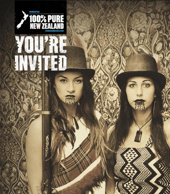 New Zealand, Invitation,