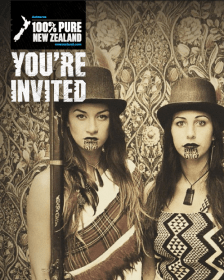 New Zealand, Invitation,