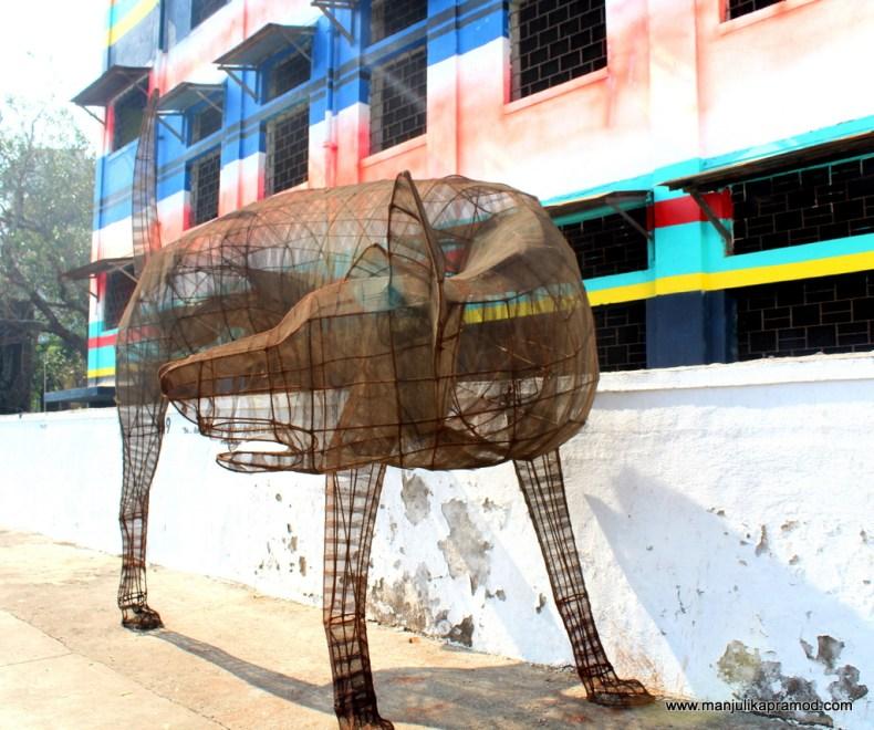 St+Art project Mumbai