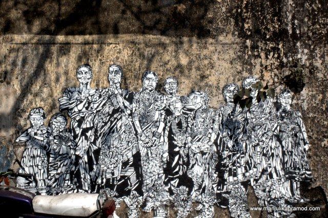 Wall art, Koli community