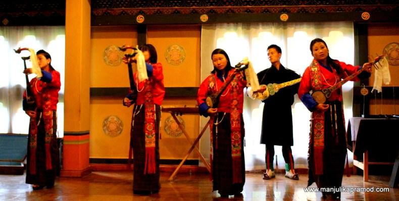 Singing, Dancing, Bhutan