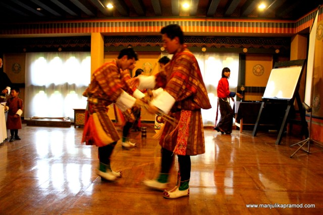 Farewell dance, Bhutan