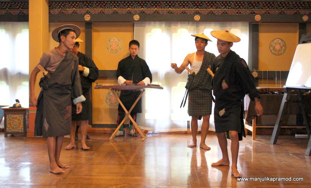 Tribal dances of Bhutan