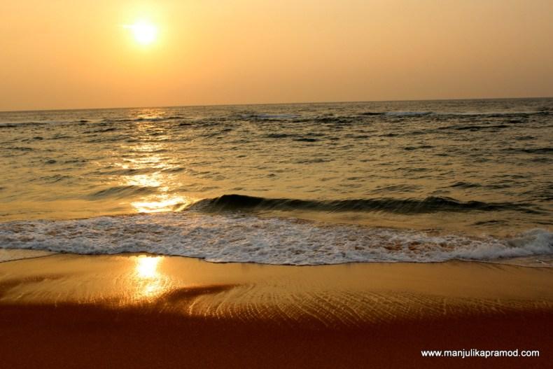 Southwestern coast of Sri Lanka.