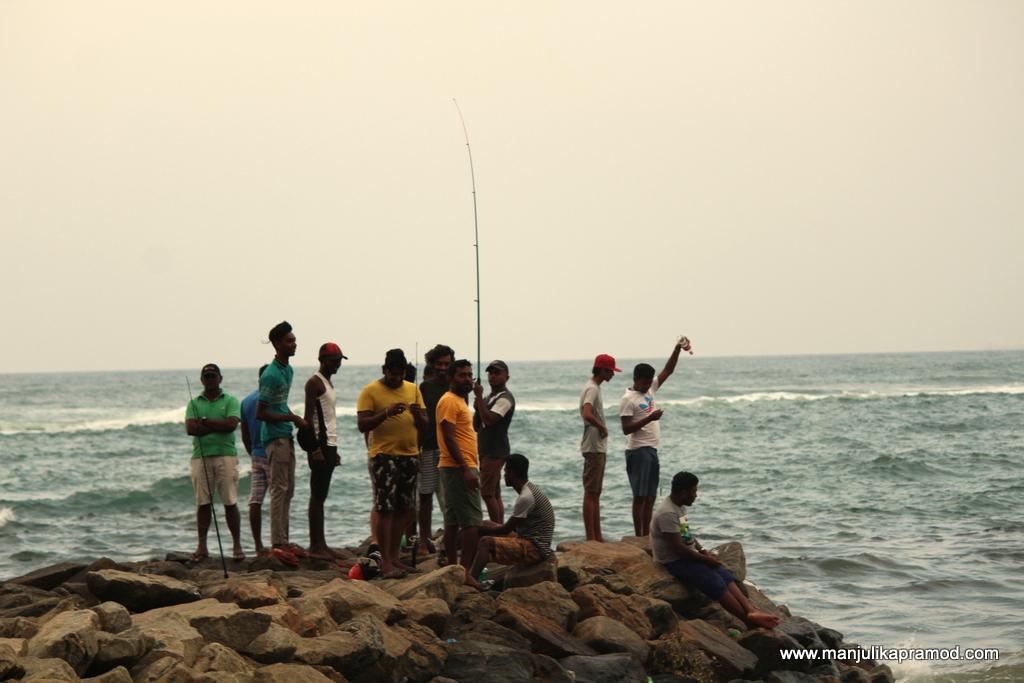 Fishing in Colombo
