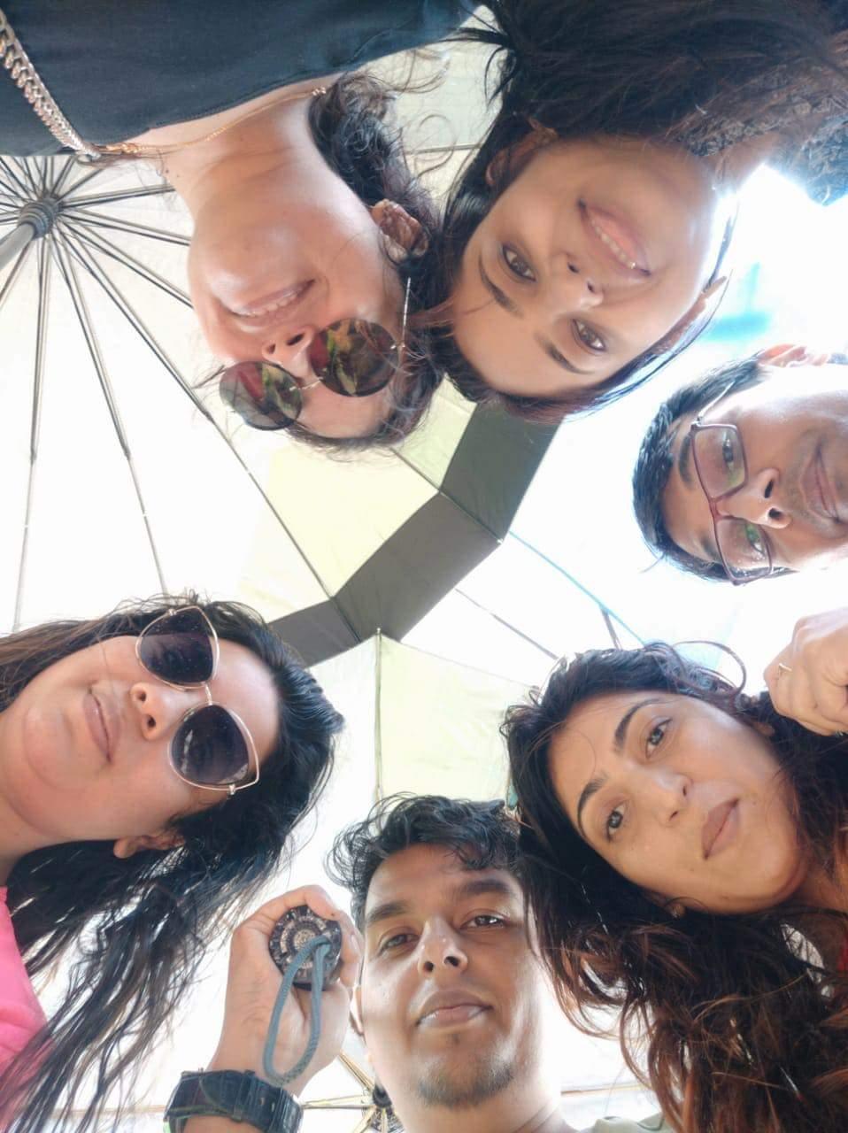 Friends in Mumbai