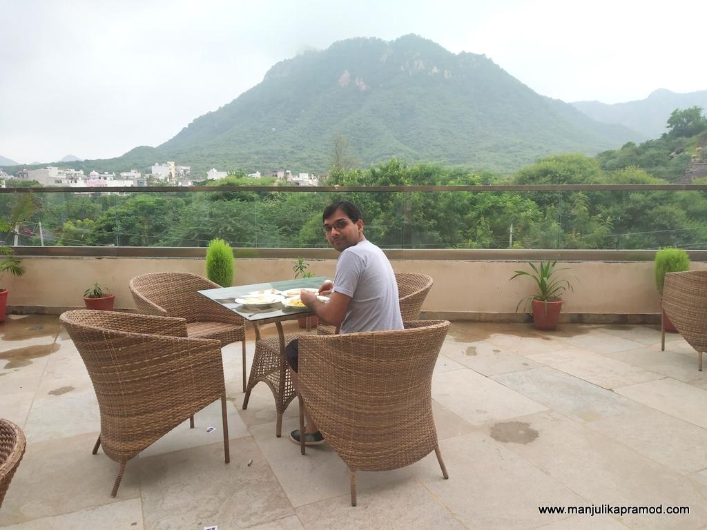 View of Sajjangarh fort