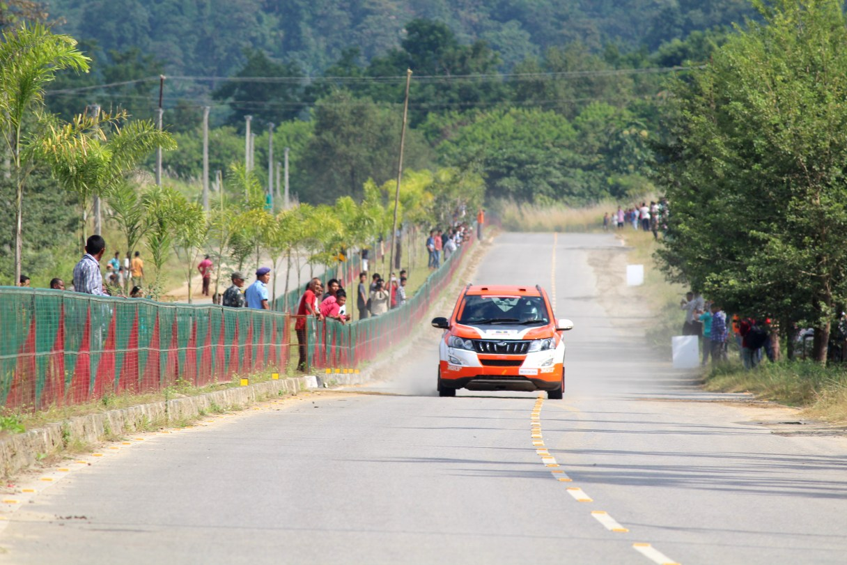 Chimpu, Hollongi, Arunachal Rally