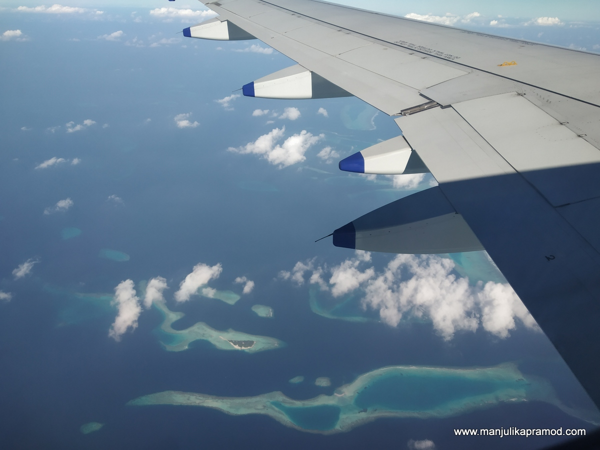 I flew to Maldives with Go Air
