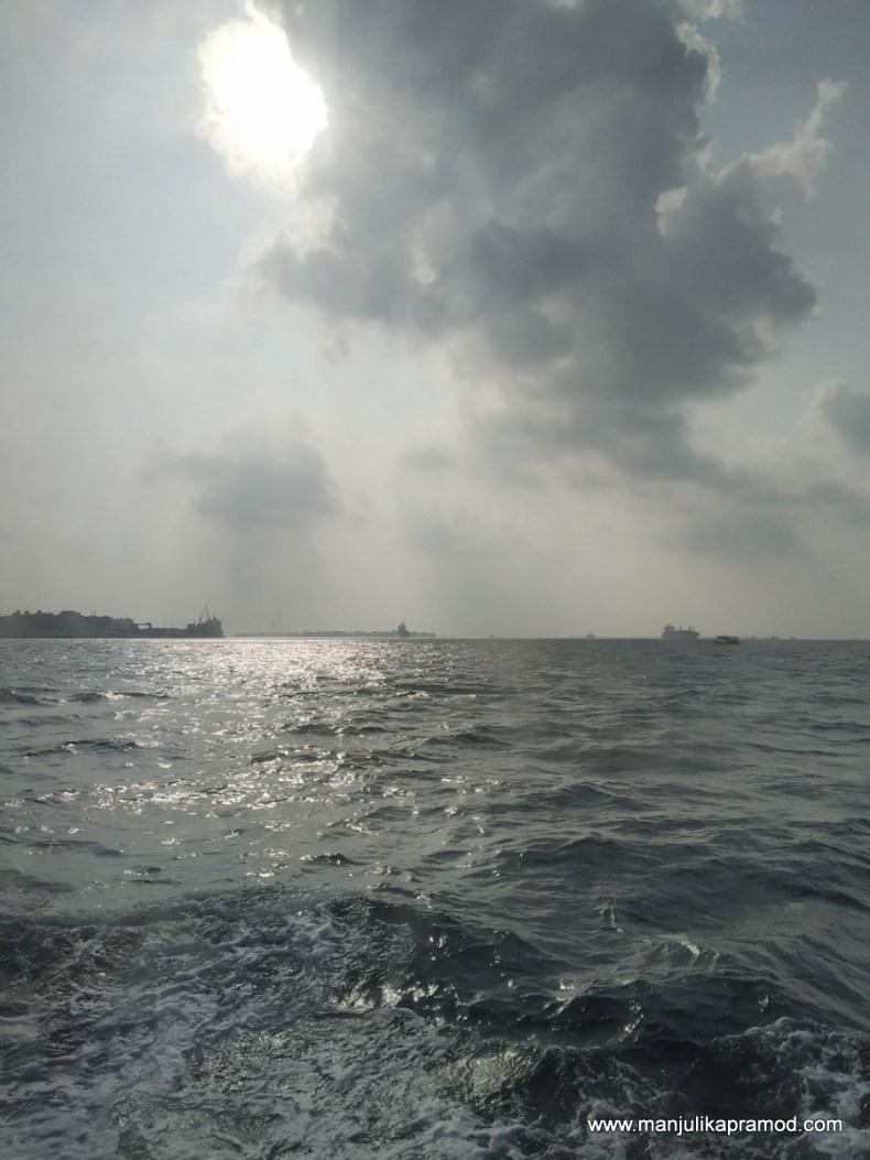 When the Indian Ocean was choppy