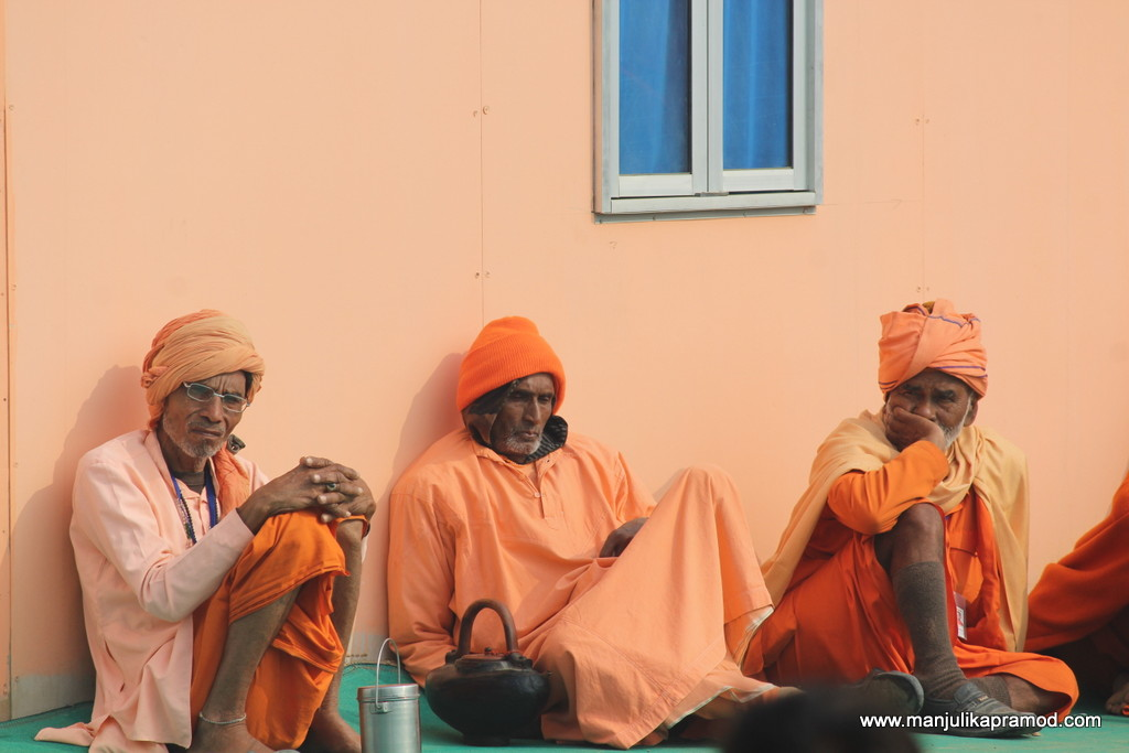 Pictures of 3 sadhus